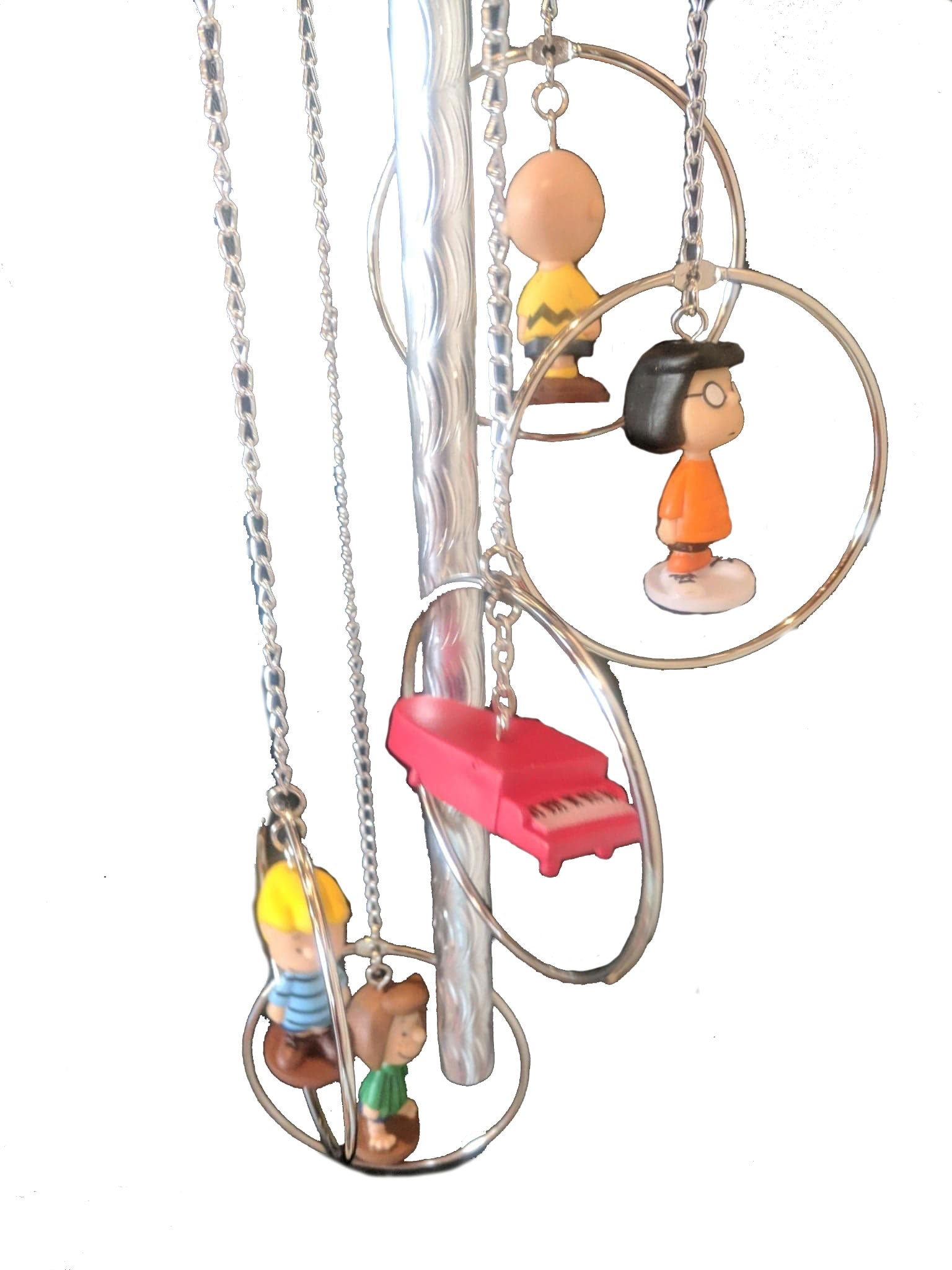 Peanuts Characters Wind Chime | Includes Schroeder's Piano | FREE Shipping