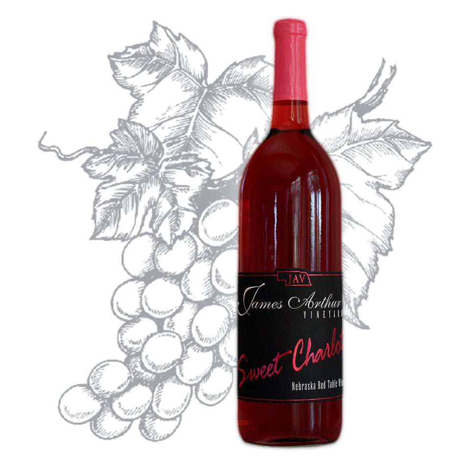 Sweet Charlotte Red Award Winning Wine | Berrylicious Explosion & Sensational Pineapple Delight | 100% Frontenac