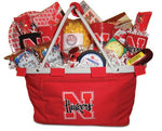Nebraska Husker Tailgating Gift Basket Pac | Go Big Red Party Pack