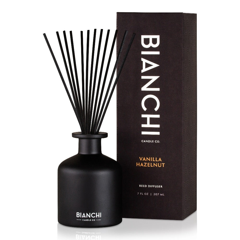 Vanilla Hazelnut | Bianchi 7 oz. Reed Diffuser | Shipping Included