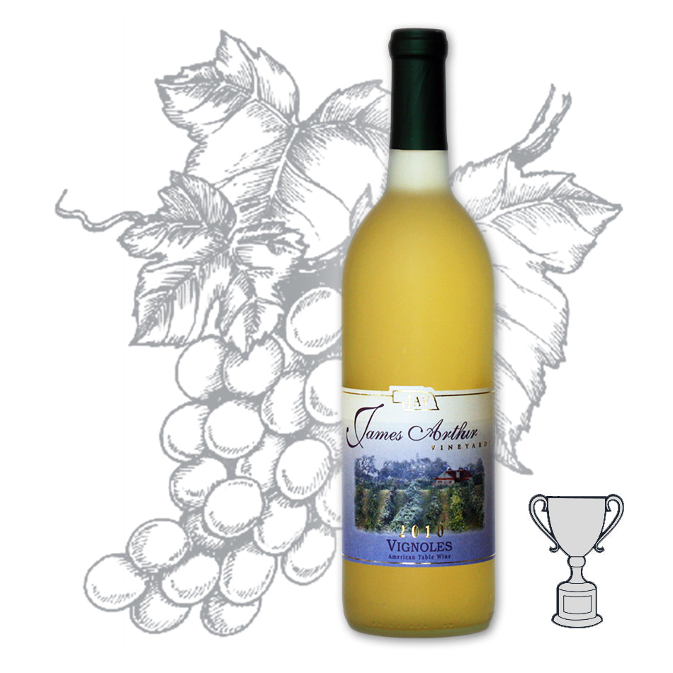 Dry Vignoles | Dry White Wine | Burst of Crisp Fruitiness | Dry Oaked White | 100% Vignoles Grapes