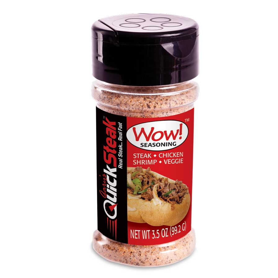Wow! Seasoning 3 pk - 3.5oz Seasoning Bottles | Savory & Satisfying Gourmet Flavoring