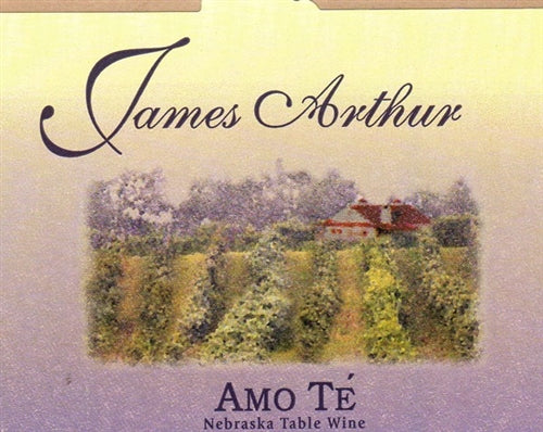 James Arthur Vineyard Nebraska Amo T̩ Wine