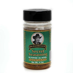 Jim Baldridge's Natural 4.7 oz. Secret Seasoning Case of 12