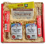 From Nebraska Gift Shop's Trail Blazin' Snacks Gift Basket