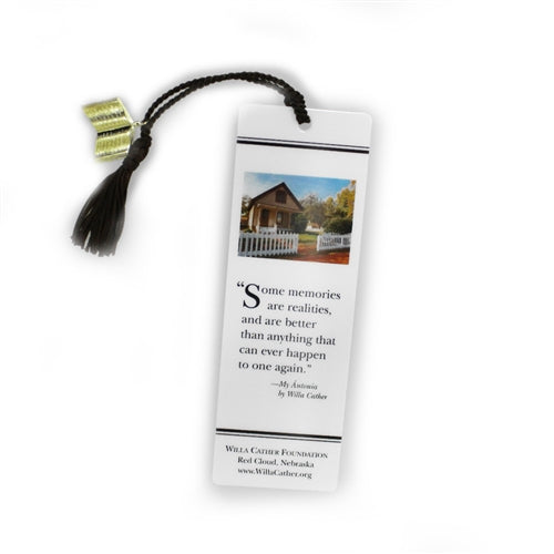 Willa Cather Foundation Childhood Home Bookmark