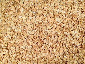 Rolled Kamut Khorasan Wheat | 25lb Bag | Organic | Grain Place Foods | Non-GMO | Kosher | Shipping Included