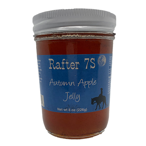 Autumn Apple Jelly 8oz | Taste Memories of Granny's Apple Pie | Rafter 7S