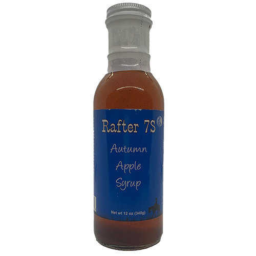 Autumn Apple Syrup 12oz | Sweet Syrup | Rafter 7S