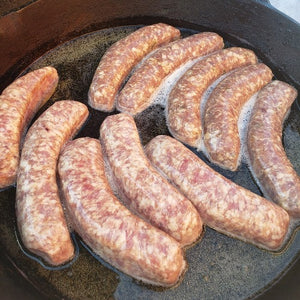 Beer Bratwurst | Nebraska Ranch Raised Pork | Shipping Included | 4 Pack