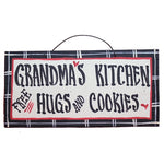 IM's Countryside Painting Grandma's Kitchen... Free Hugs and Cookies Sign