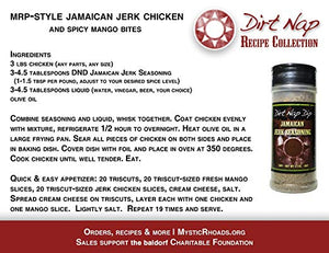 Dirt Nap Dip Jamaican Jerk Seasoning | You buy, and we give 100% | Mystic Rhoads Productions