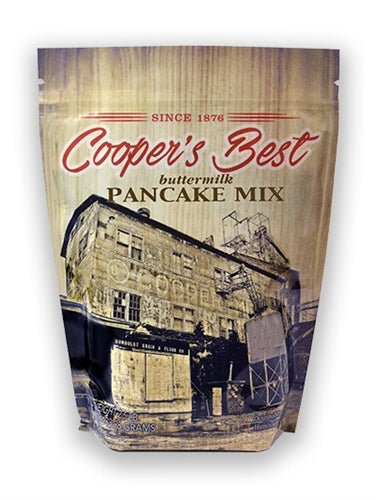 Cooper's Best Flour 2.5 Pound Pancake Mix Bag
