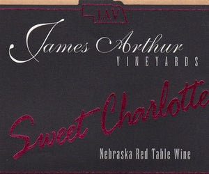 James Arthur Vineyard Nebraska Sweet Charlotte Wine