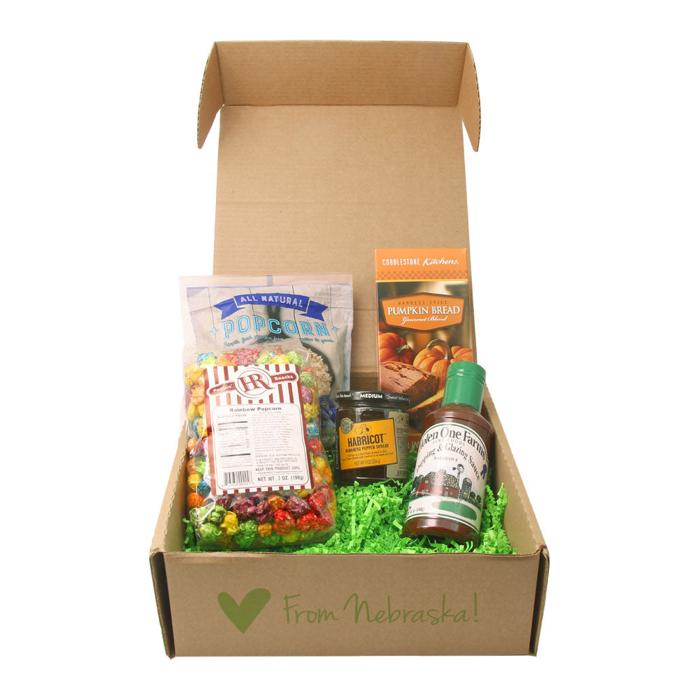 Nebraska Food Club - Gift Box - Receive Delicious Food Items Every Month!