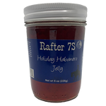 Holiday Habanero Jelly 8oz | Spicy Cranberry Flavor | Rafter 7S