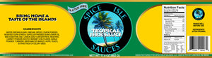 Tropical Jerk Sauce |  Single Bottle or Case of 12 | Great for Grilling, Marinating and More | Authentic Caribbean Flavors | Gluten Free