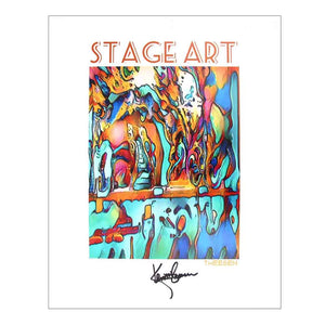 Stage Art | Fine Art Print by Kent Theesen