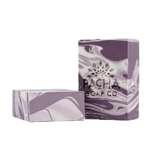French Lavender Bar Soap | Naturally Handcrafted to Calm Gently & Sweetly | Pacha Soap Company