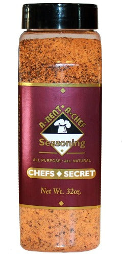 Chef's Secret Seasoning | 32oz | All-Natural | Best Spice Blend | A-Rent-A-Chef