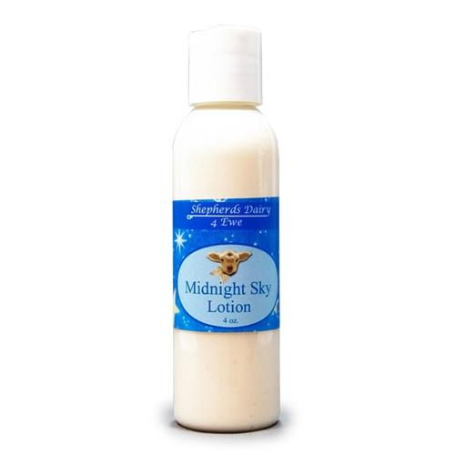 Midnight Sky Victorian Lotion | Great For Dry Skin | Shepherd's Dairy 4 Ewe