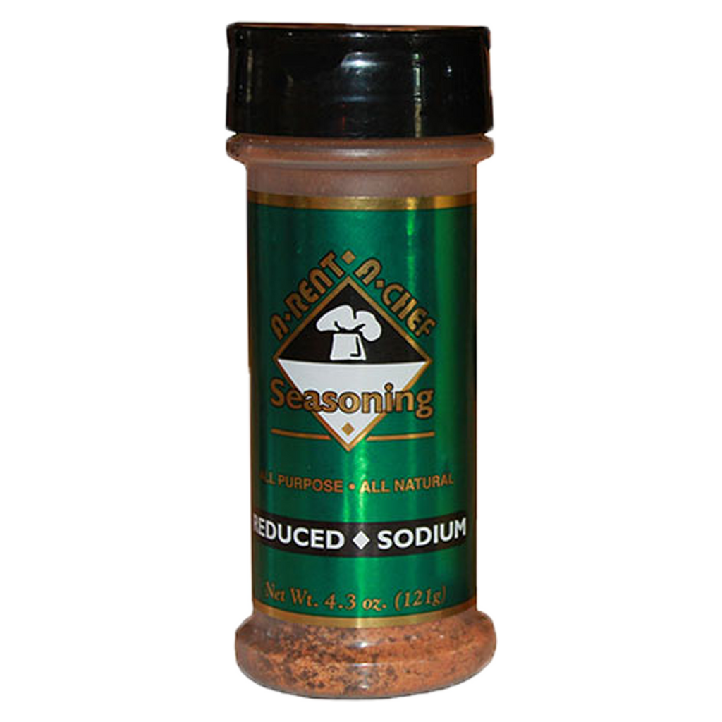 Reduced Sodium Seasoning | All-Natural | Seasoning For Low Sodium Diets | A-Rent-A-Chef