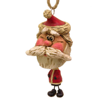 Rough Beard Santa Ornament | Shipping Included