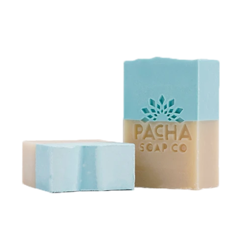 Sand and Sea 4 oz. Natural Bar Soap | Exfoliating & Pumice | Shipping Included Options | Pacha Soap Company