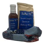 Patchwork Gift Bag | Sandhill Cowboy's Syrup & Sandhill Cowgirl's Gourmet Baking Mix | Rafter 7S