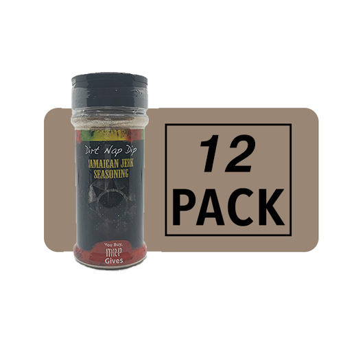 DND Jamaican Jerk Seasoning | The Bundle That Gives Back | 12 Pack | Mystic Rhoads Productions