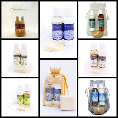 Small Gift Bag | All Natural | Lotion & Soap Gift | Shepherd's Dairy 4 Ewe