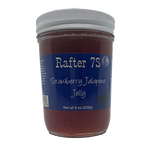 Strawberry Jalapeno Jelly 8oz | Sweet With A Kick | Rafter 7S
