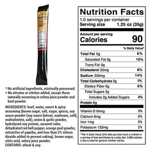 Sweet & Spicy Beef Stick | All-Natural Beef Stick | High Protein Travel Snacks | NE Star Beef