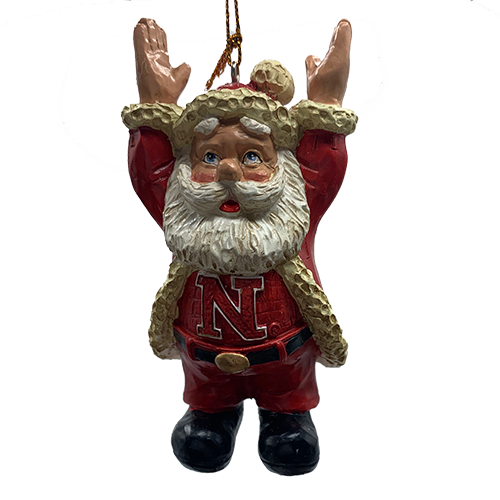 Touchdown Husker Santa Ornament | Shipping Included