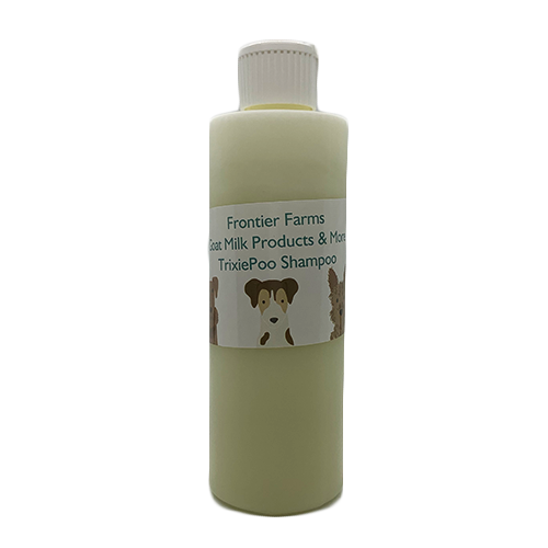 TrixiePoo Goat Milk Dog Shampoo | All-Natural Shampoo For Your Furry Friend | Frontier Soap Shack