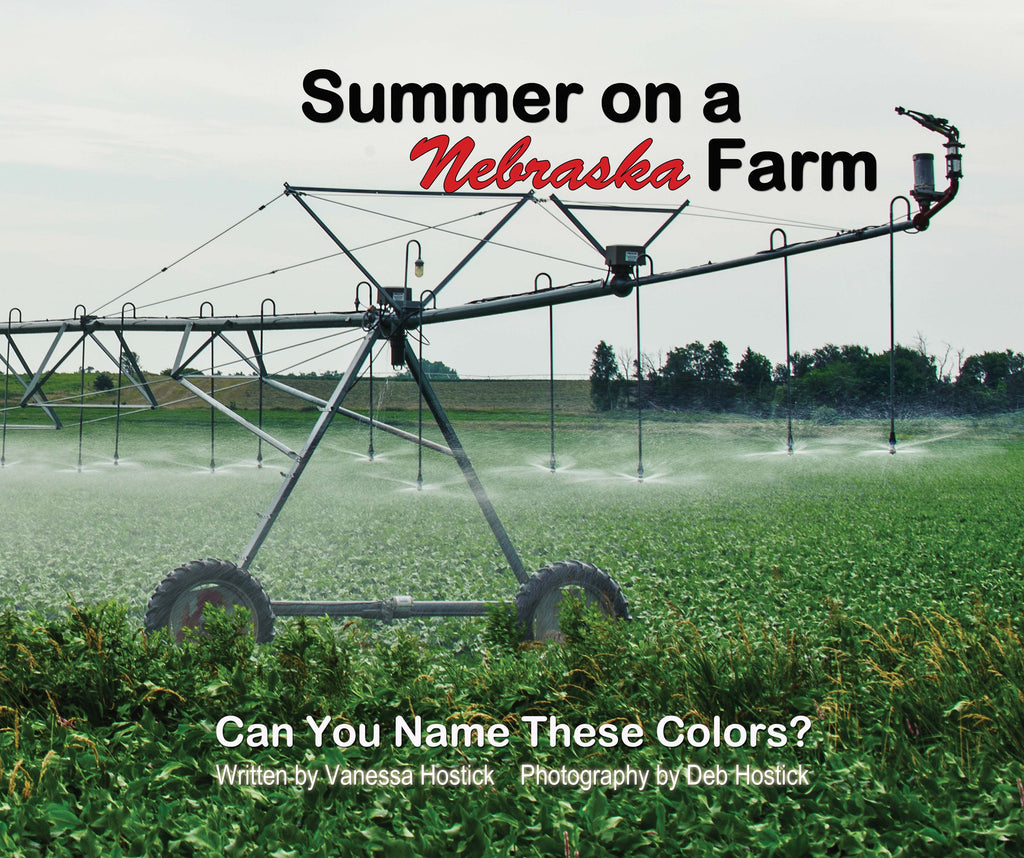 Summer on a Nebraska Farm | Great Color Learning Book | Best Kid's Color Book