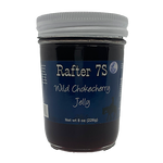 Wild Chokecherry Jelly 8oz | Chokecherry Picking Memories Brought To Your Table | Rafter 7S