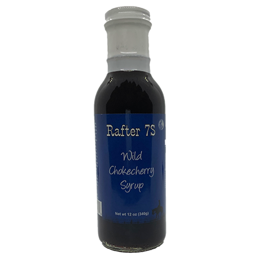 Rafter 7S | Wild Chokecherry Syrup | Best Syrup For Your Morning Breakfast