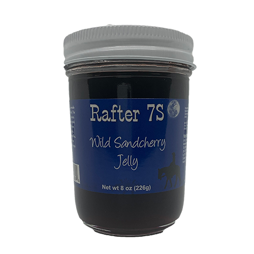 Wild Sandcherry Jelly 8oz | Delicious On Toast | Rafter 7S