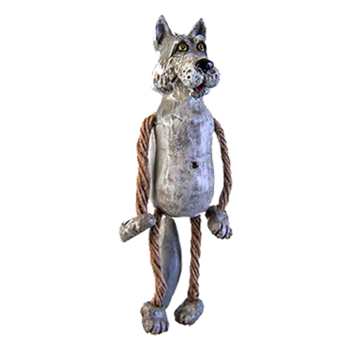 Wolf Ornament | Shipping Included