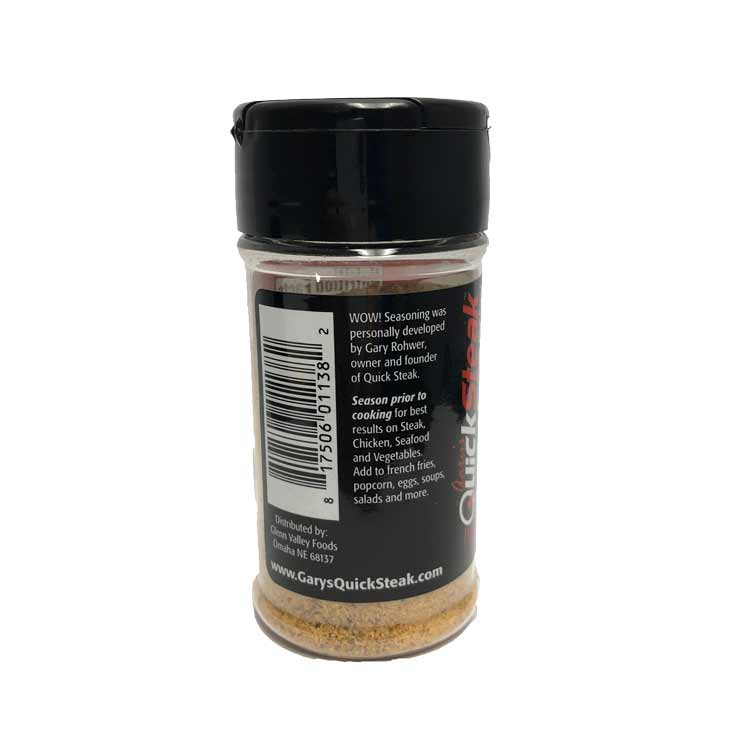 Wow! Seasoning | Savory & Satisfying Gourmet Flavoring | Great All-Purpose Seasoning