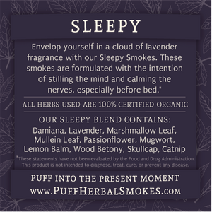 Sleepy Smokes Pre-Roll Pack