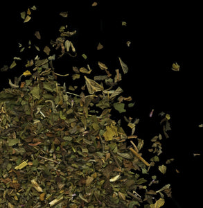 Stimulating Smokes: herbal loose-leaf smoking blend with peppermint