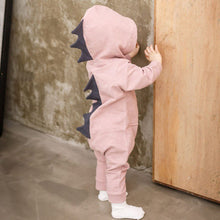 Load image into Gallery viewer, Newborn Infant Baby Dinosaur Hooded Jumpsuit