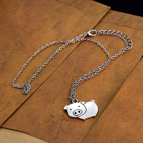 Cute pig necklaces