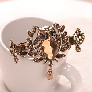 Classic Bronze Plating Retro Owl