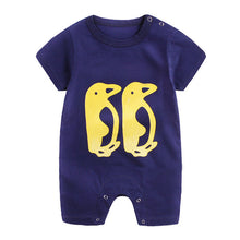 Load image into Gallery viewer, Newborn Infant Baby Cute Cartoon Printed Jumpsuit