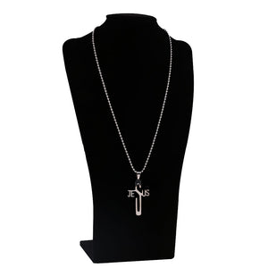 Newest JESUS CROSS Christian Fashion Pendant Necklace