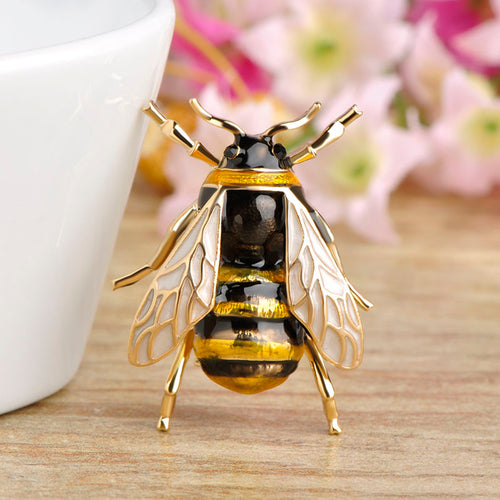 Cute Insect Fly Bee Brooch