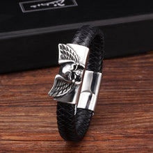 Load image into Gallery viewer, Genuine Leather Men Bracelet